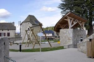 Jardin Public d'Aumont-Aubrac.